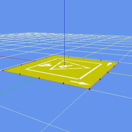 Helipad Yellow, MDL format ou DAE Collada.