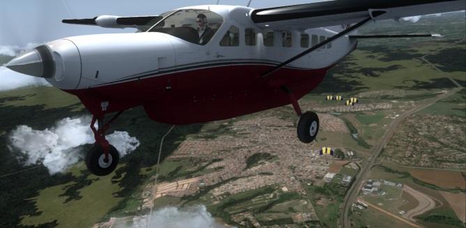 Brazil, Boituva CNP Skydiving Center