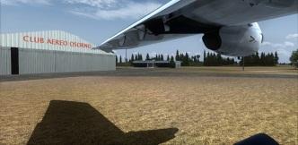 Chile. Osorno club aereo