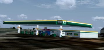 3D Model Download https://3dwarehouse.sketchup.com/model/d1cb0290-ee29-4360-826f-7749cb5cbe62/Posto-BR-Petrobras-Gas-Station-Brazil
