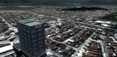 SJRX Hospital Nordeste helipad