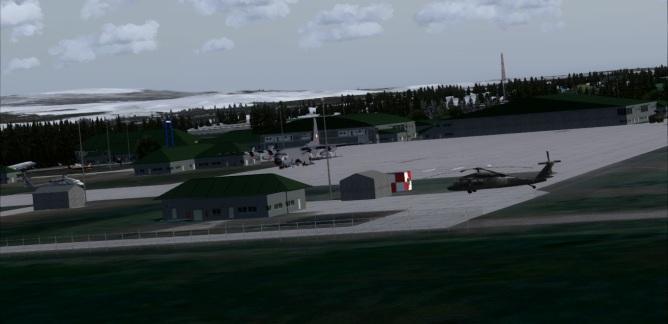 Punta Arenas military ville