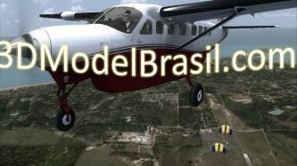 3D Model Brasil Promo