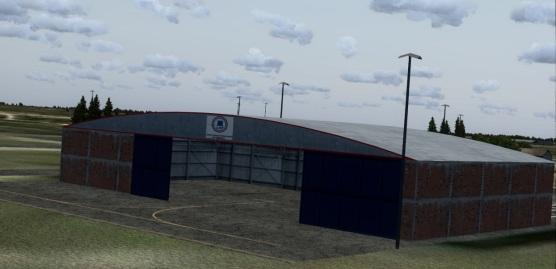 LAP Paraguay Hangar